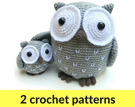 Cute Little Amigurumi Owl : Owl amigurumi patterns owl stuffed animal crochet owl