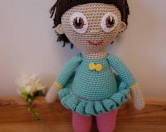 Crochet doll, Crochet toy, Baby gift, Big crochet doll, Handmade doll, Amigurumi doll, Girl toy, Doll