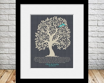 Thank You Gift for Parents, Personalized Parent Thank You Gift, Gift for Parents, Thank You Simply Is Not Enough