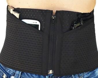 Hidden Heat Wrap - Torso Gun Holster for Women and Men