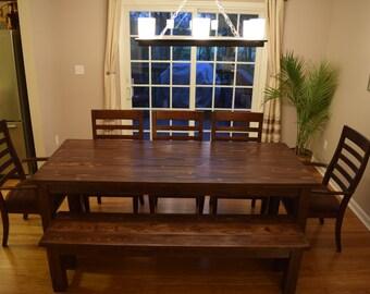 Custom Built - Traditional Farmhouse Table