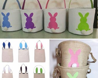 Easter basket, personalized Easter basket, bunny Easter basket