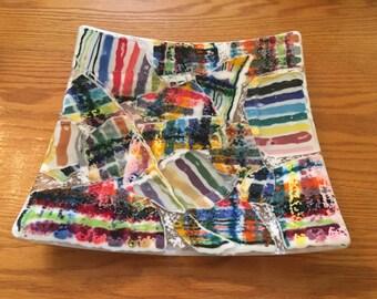 Crazy Quilt Platter