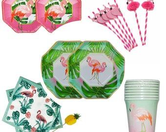 Flamingo Party Plate Set