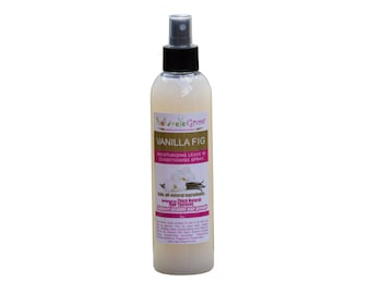 Leave In Hair Conditioner Vanilla Fig Hair Spritzer for natural hair growth