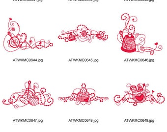 Magic-Threads  ( 10 Machine Embroidery Designs from ATW )