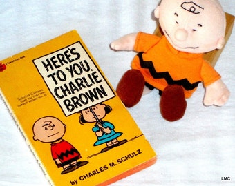 Here's To You Charlie Brown Doll and Book - 1969