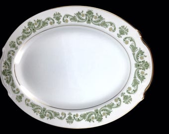 """Style House  China """"Contessa"""" Oval Serving Platter"""