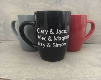 Shadowhunters, The Mortal Instruments Coffee Cup
