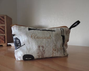 Classical Music Pencil Pouch