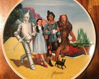 1979 Wizard of Oz The Grand Finale Plate