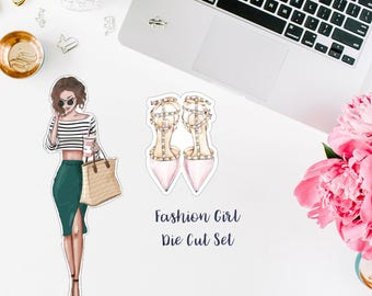 Fashion Girl Die Cut Set