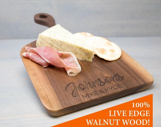 Walnut Wood Serving Cheese Board