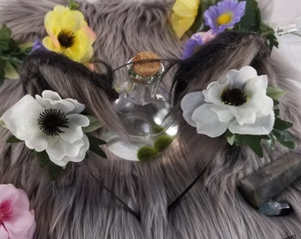 Forest Goddess Wolf Ears - Wolf Ear Headband