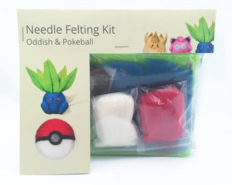 Make Your Own Oddish and Pokeball Kit.