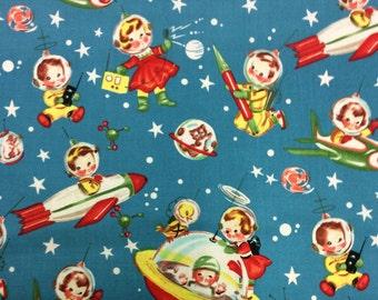 Patchwork Quilting Fabric Michael Miller Rocket Rascals
