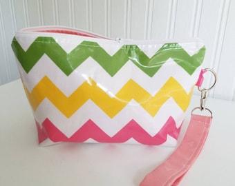 Beach Ball - Laminated Small Wedge Bag