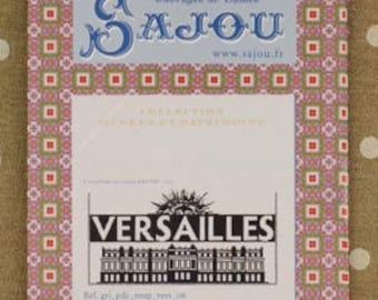 The silhouette of the palace of Versailles cross stitch pattern chart Musuem and Heritage Collection