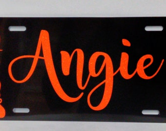 Personalized License Plate - Custom License Plate Name - Custom Name License Plate - Auto Accessories - Custom License Plate Sign
