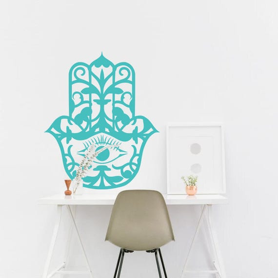 Hamsa wall decals house protection girl wall sticker hamsa