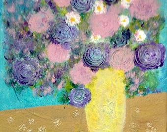 2. bouquet de fleurs