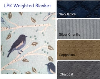 Weighted Blanket, Autism, Adult, GLASS BEADS, Child's Weighted Blanket, Minky, Flannel, Lap pad, Weighted Throw, Weighted Throw, 7-27 pounds