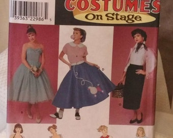 Simplicity 8742 - Costumes on Stage