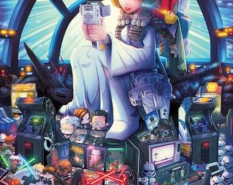 SW Gaming Tribute Print