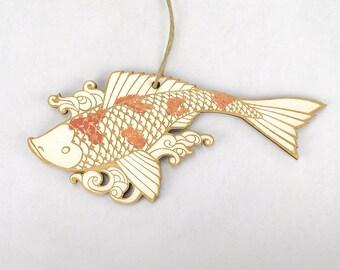Koi Christmas Ornament