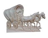 Vintage Covered Wagon Woo...
