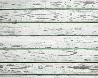 2ft x 2ft Vinyl Photography Backdrops for Product Photos and Accessories  White Wood 164