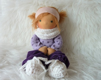 "Greta 12"" Waldorf inspired Doll"