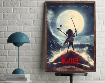 Kubo and the Two Strings cover wallpaper decoration photo poster