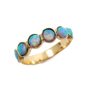 Gold ring, Opal gold ring, opal jewelry, gold jewelry, opal ring, gift for her, birthday gift, gold opal ring, gold ring, opal jewelry, opal