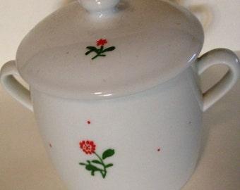 Ceramic Rose Jar