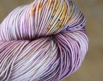Variegated Hand Dyed Yarn-LADY DEFIANCE-Fuzzy Toad-100 gr-55 superwash/20 Kid Mohair/25 Nylon-438 yards-Toad Hollow Yarn-Indie Dyed Yarns