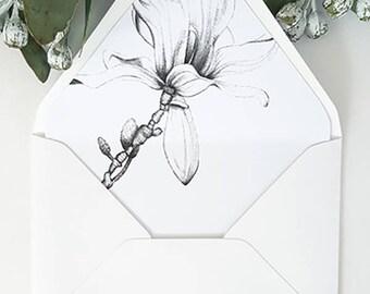 Magnolia Envelope Liner/Envelope Liner/A7 Envelope