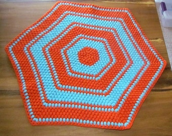Crochet Hexagon Blanket