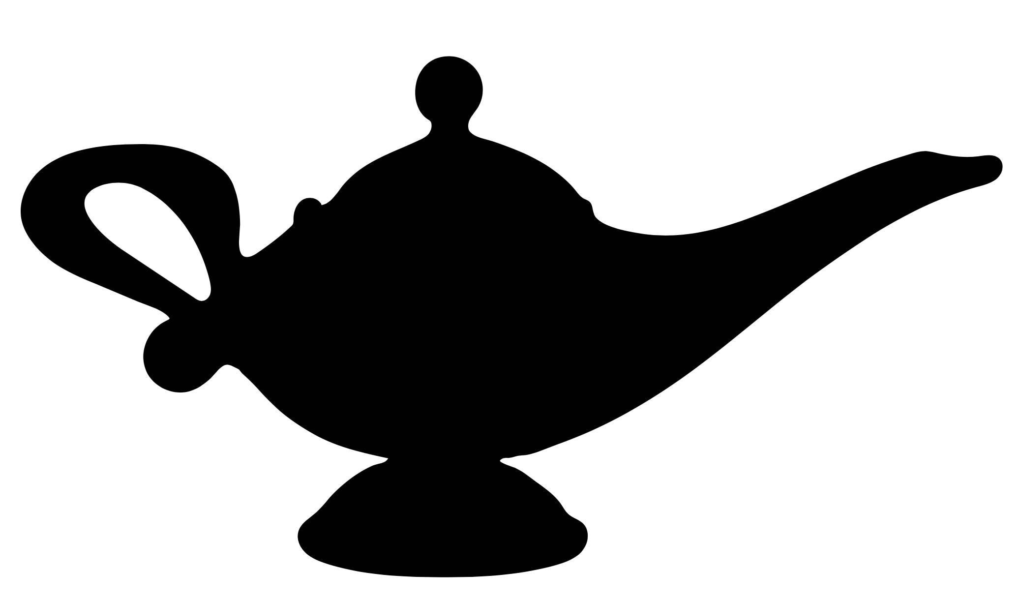 31   Amazing Genie Lamp for Genie Silhouette  585eri
