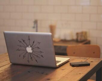 Macbook & Computer Sticker Arrows