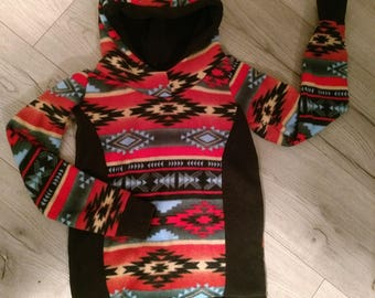 Upcycled Hoodie size 6-12T