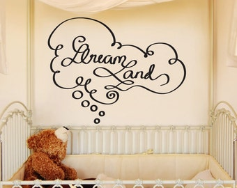Vinyl Wall Decal Sticker Dreamland OSDC652s