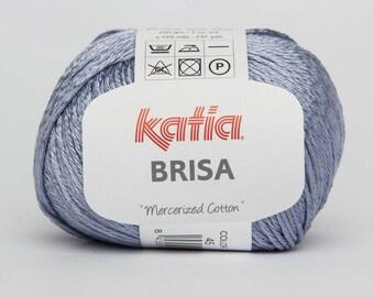 Katia cotton - Broke blue-collar 45-60% cotton, 40% Viscose