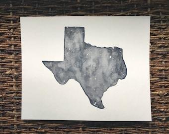 Texas Watercolor
