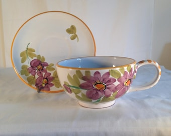 XL cup and saucer