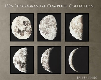 Moon Photogravure Collection 1896