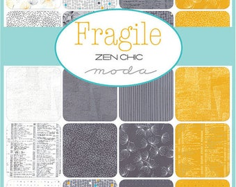 Fragile Charm Pack by Zen Chic for Moda Fabrics - 5 inch squares