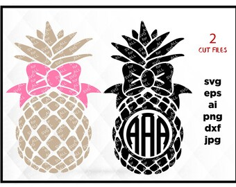 Pineapple Silhouette | Etsy Studio