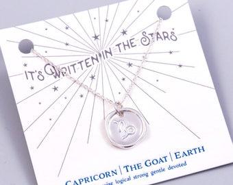 Capricorn | Capricorn Necklace | Zodiac Jewellery | Capricorn Jewelry | Gift for Capricorn | Zodiac Sign | Star Sign Capricorn