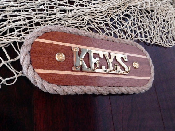 Wall Key Hook Holder Brass Hanger Key Rack Jewelry